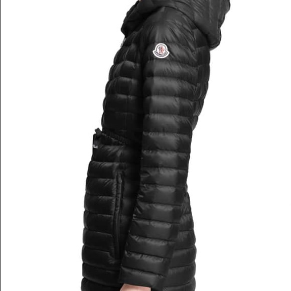 a86276c02 Moncler Barbel Quilted Puffer Coat with Fur Trim